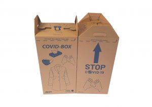 Emballage covid-box