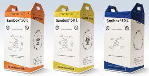 Famille d'emballages sanibox export