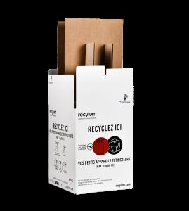 Emballage de collecte d'extincteurs/aérosols